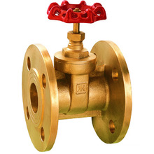 brass flanged gate valve, low price and high quality, J1008 gate valve